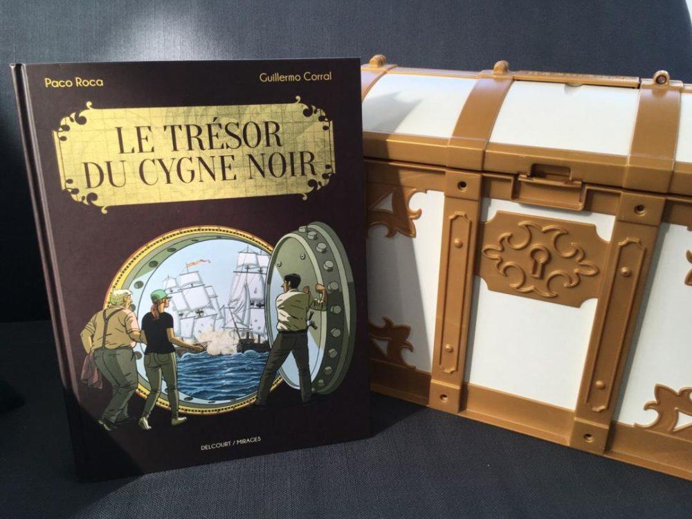 LE TRÉSOR DU CYGNE NOIR, Paco Roca et Guillermo Corral, éditions Delcourt/Mirages