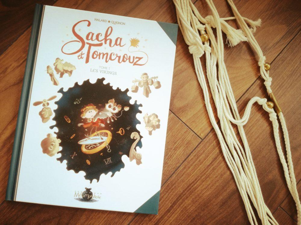 SACHA & TOMCROUZ, Bastien Quignon & Anaïs Halard, éditions Soleil