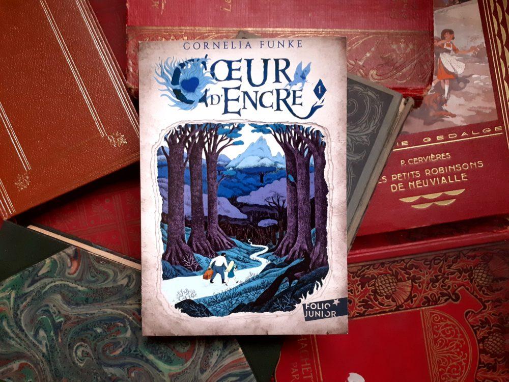 CŒUR D'ENCRE, Cornelia Funke, éditions Gallimard