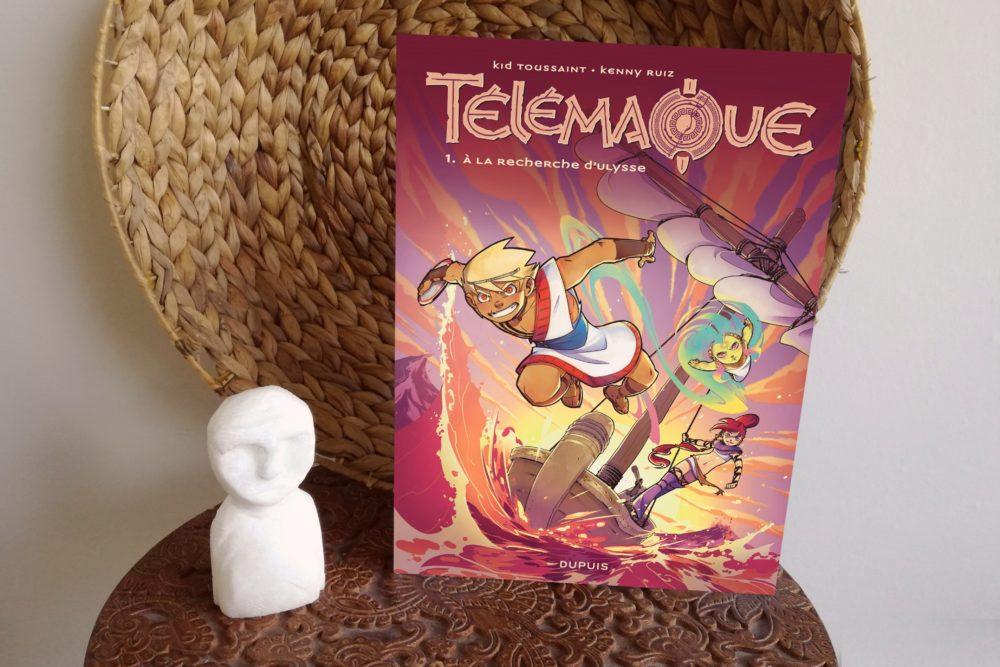 TÉLÉMAQUE, Kid Toussaint et Kenny Ruiz, éditions Dupuis