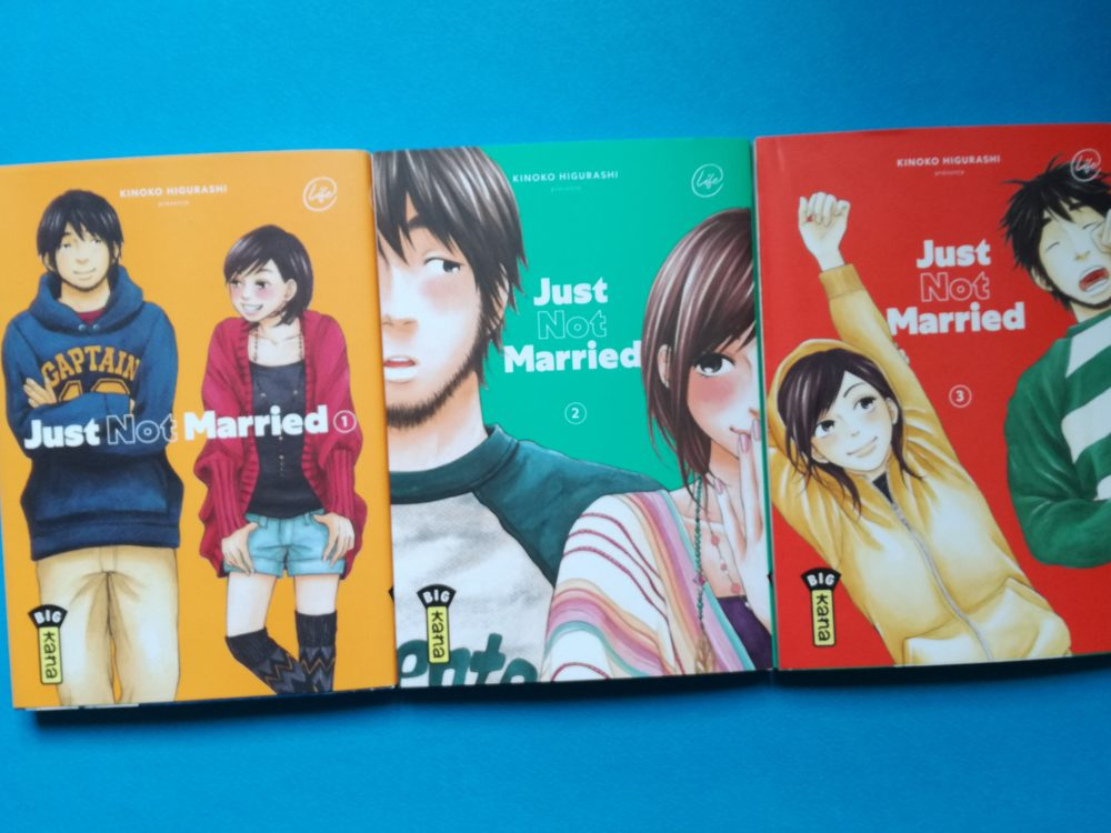 JUST NOT MARRIED, Kinoko Higurashi, éditions Kana