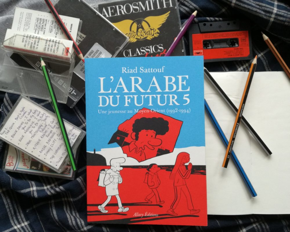 L'ARABE DU FUTUR : Volume 5, Riad Sattouf, éditions Allary