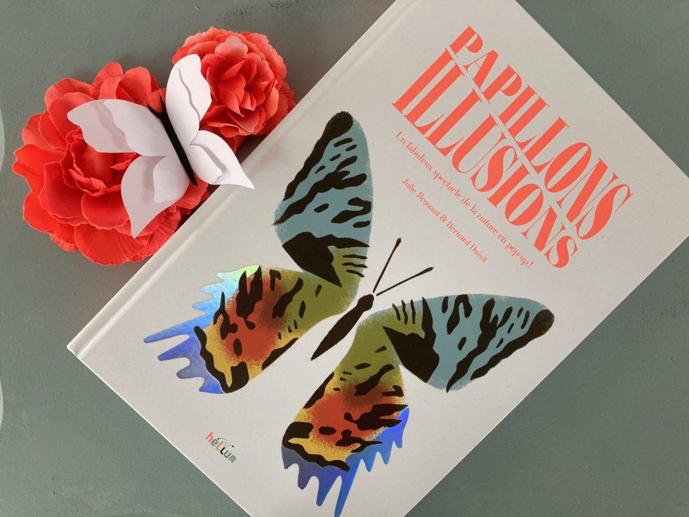 PAPILLONS ILLUSIONS de Julie Brouant et Bernard Duisit, éditions HELIUM