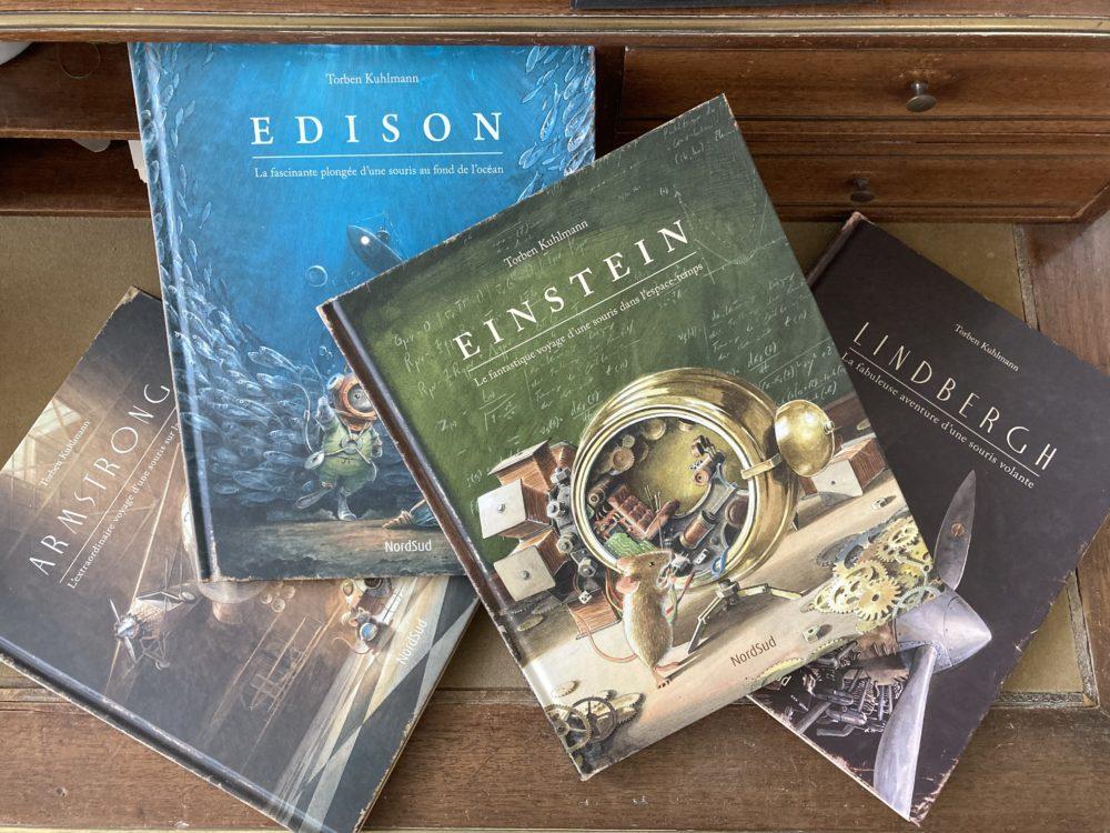 EINSTEIN, le fantastique voyage d'une souris dans l'espace-temps, de Torben KUHLMANN aux éditions NordSud