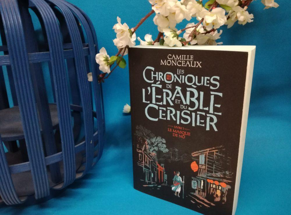 LES CHRONIQUES DE L'ÉRABLE ET DU CERISIER, Camille Monceaux, éditions Gallimard