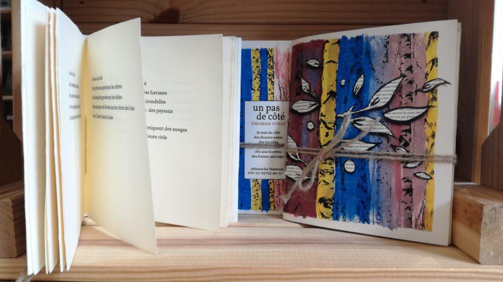 UN PAS DE CÔTÉ, Thomas Vinau, éditions Les Venterniers