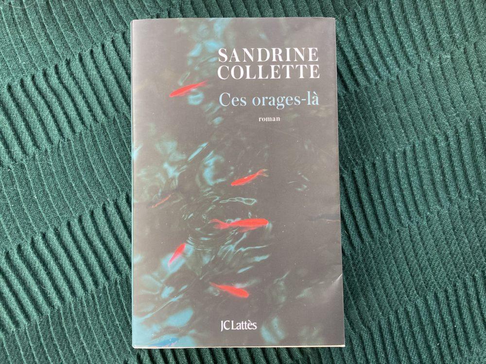 CES ORAGES-LÀ de Sandrine Collette aux éditions JCLattès