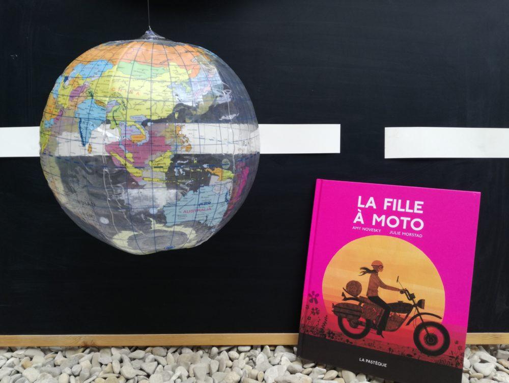 LA FILLE À MOTO, Amy Novesky et Julie Morstad, éditions La Pastèque